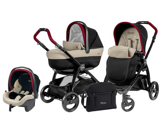 TRIO PEG-PEREGO BOOK PLUS FIAT 500